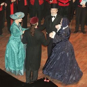 Historisk dans i Berwaldhallen